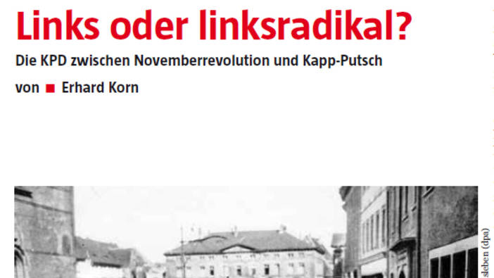 Links oder linksradikal?